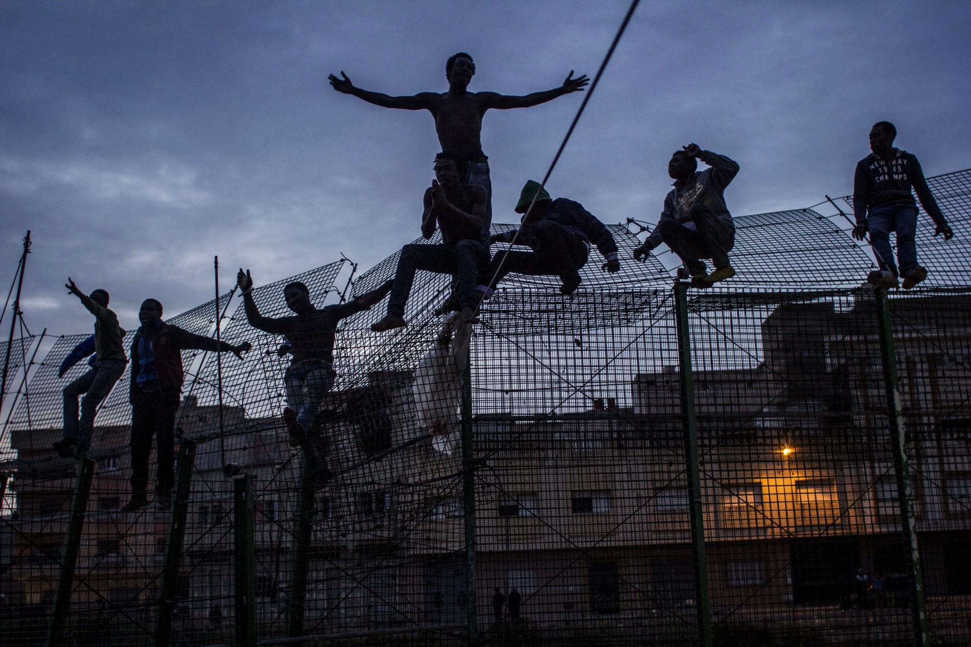 The Wall of Europe by Sergi Cámara